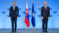 Visit to NATO by the Prime Minister of Slovakia
