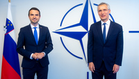The Minister of Defence of Slovenia visits NATO