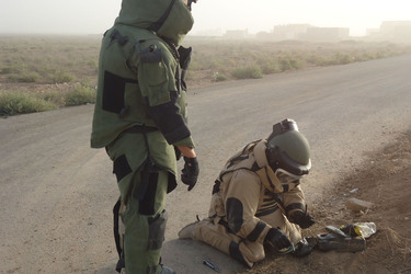NATO and Iraq tackle deadly improvised explosive devices together