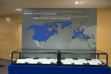 NATO Archives marks enlargement anniversaries at the Foreign Ministers meeting