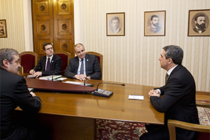 NCI Agency General Manager meets with President Rosen Plevneliev