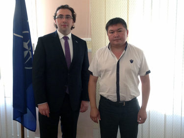 NATO Liaison Officer in Central Asia visits Kyrgyzstan
