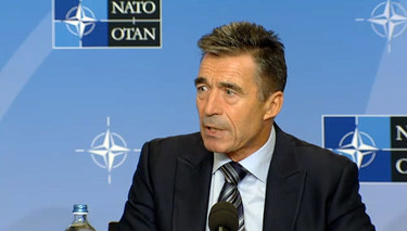 Pre-Summit Press Conference by NATO Secretary General Anders Fogh Rasmussen at Residence Palace, Brussels