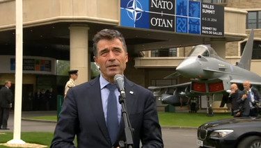Doorstep statement by NATO Secretary General Anders Fogh Rasmussen at the beginning of the NATO Wales Summit