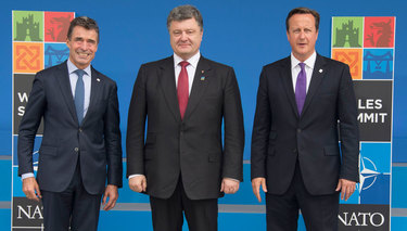 NATO leaders pledge support to Ukraine at Wales Summit