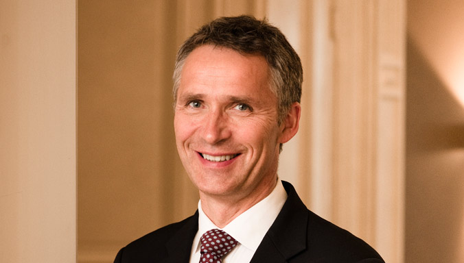 Mr. Stoltenberg takes up office as NATO Secretary General