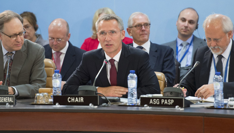 Jens Stoltenberg chairs first North Atlantic Council