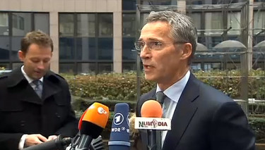 Doorstep statement by NATO Secretary General Jens Stoltenberg upon arrival at European Union Foreign Affairs Council