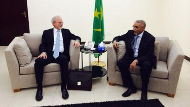 NATO Assistant Secretary General Stamatopoulos meets with the Prime Minister of Mauritania
