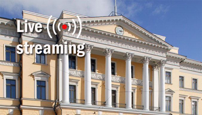 Live streaming : NATO Secretary General and Finnish Prime Minister (13:00 Brussels time)
