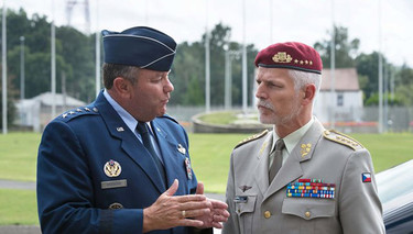 NATO's New Chairman of the Military Committee Visits SHAPE