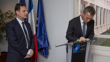 NATO Secretary General signs book of condolences for Paris attack