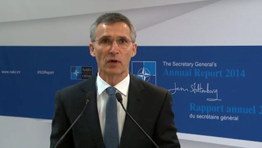 Press conference by the NATO Secretary General, Jens Stoltenberg, for the launch of the Annual Report 2014, NATO HQ, Brussels
