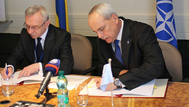 NATO Agency and Ukraine sign Trust Fund agreement
