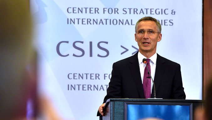 Secretary General says NATO must adapt to a changing world
