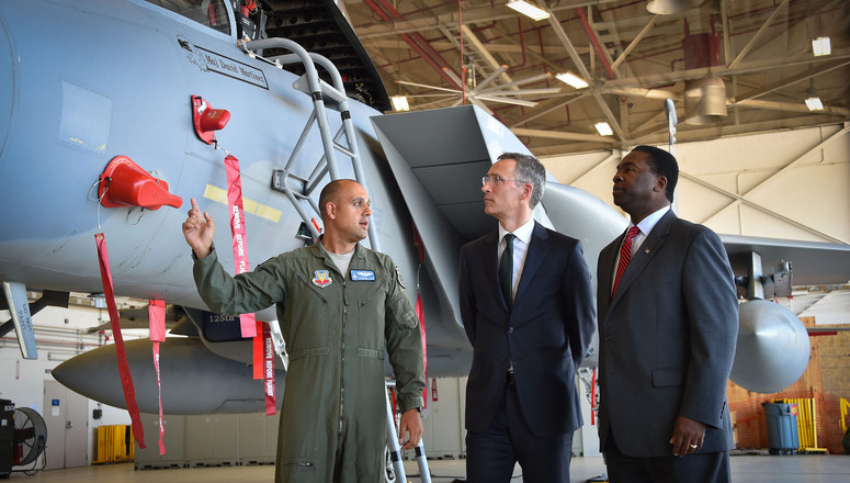 NATO Secretary General thanks US military personnel for their service