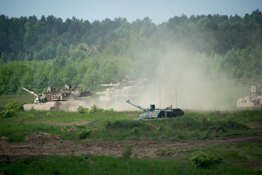 Poland hosts armour exercise PUMA 2015, testing interoperability and responsiveness