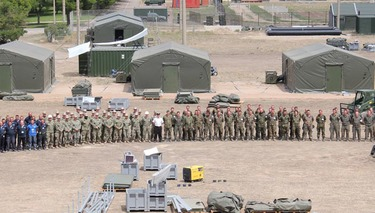 Spain prepares for Exercise Trident Juncture 2015