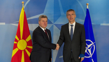 NATO Secretary General statement following his meeting with President Gjorge Ivanov of the former Yugoslav Republic of Macedonia¹