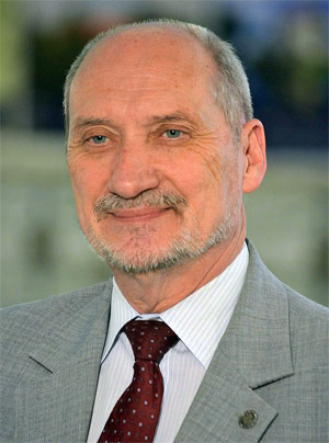 Antoni Macierewicz, Minister of defence of Poland