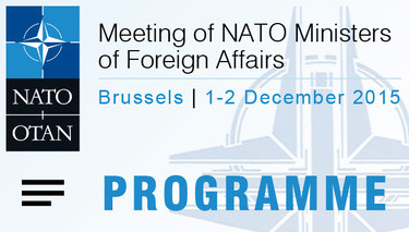 NATO Foreign Affairs Ministers meeting - Programme