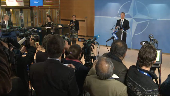 NATO Foreign Ministers Day One: focus on Afghanistan, challenges to the south, relations with Russia