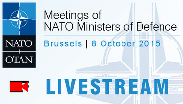 Live stream from NATO Defence Ministers' meeting -  Brussels