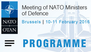 Meetings of NATO Defence Ministers - Programme, audio, video and photos