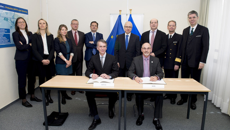 NATO and the European Union enhance cyber defence cooperation