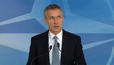 Doorstep by NATO Secretary General Jens Stoltenberg