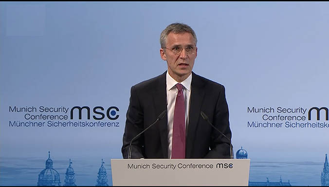NATO Secretary General calls for more defence and more dialogue
