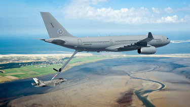 Allies join multinational fleet of tanker-transport aircraft