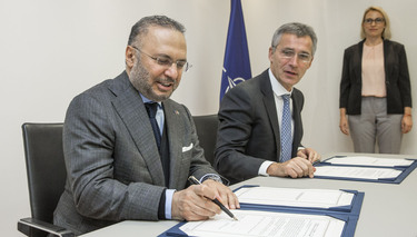 NATO and the United Arab Emirates reinforce partnership with new cooperation programme