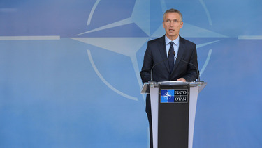 NATO Foreign Ministers discuss fairer burden sharing and efforts to project stability