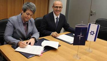 NATO and Israel sign agreement on the protection of exchanged classified information