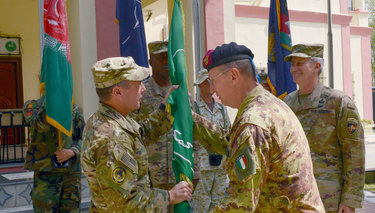 Change of Command at NATO-led Resolute Support Mission in Afghanistan