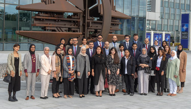 Diplomats from the Kingdom of Bahrain visit NATO headquarters