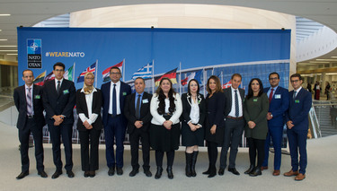 Diplomats from the Kingdom of Morocco visit NATO HQ