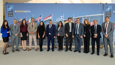 Egyptian Journalists visit NATO HQ