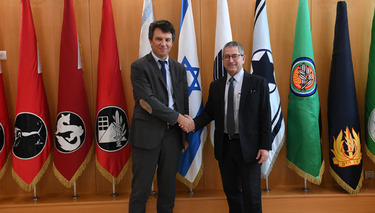 Senior NATO Official visits Israel to discuss current and future cooperation