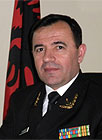 Rear Admiral Kristaq Gerveni, Permanent Representative of Albania to NATO