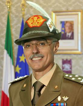 General Biagio Abrate, Chief of Defence General Staff  - Italy