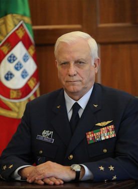 General Luís Evangelista Esteves de Araújo, Chief of General Staff of the Portuguese Armed Forces
