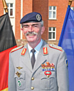 Hans-Lothar Domröse, Military Representative for Germany