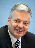 Didier Reynders, Minister of Foreign Affairs of Belgium