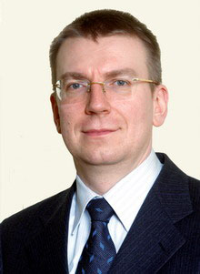 Edgars Rinkēvičs, Minister of Foreign Affairs of Latvia