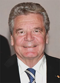 Joachim  Gauck,  President of the Federal Republic of Germany