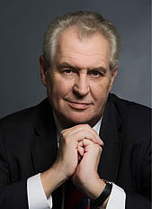 Miloš Zeman, President of the Czech Republic