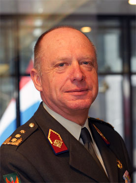 Lieutenant General Jan Broeks, Military Representative of the Netherlands to NATO