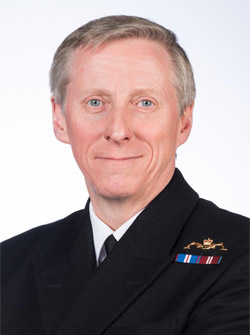 Ian Corder, Military Representative of the United Kingdom to NATO